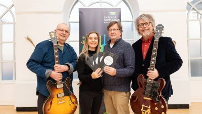 Featured image for Lineup and ticket announcements from Ards International Guitar Festival 2020